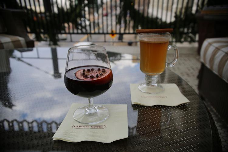 Capital Hotel-2019-mulled wine-balcony