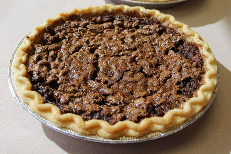 Little Rock Milford Track pecan pie by Kat Robinson