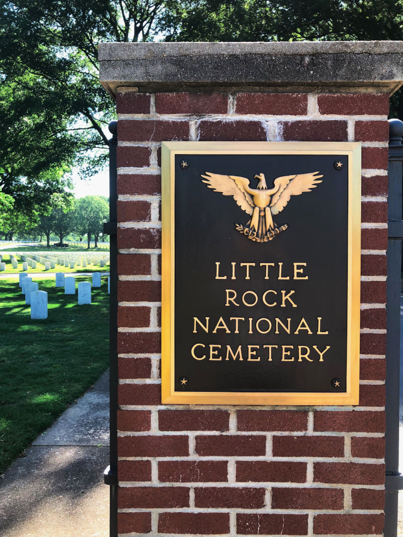 Little Rock National Cemetery-sign post-810x1080