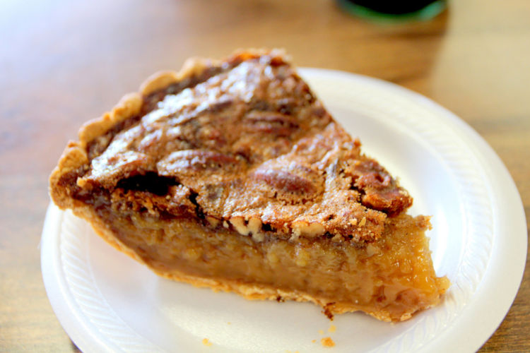 Little Rock Terri Lynns Deli and BBQ pecan pie by Kat Robinson