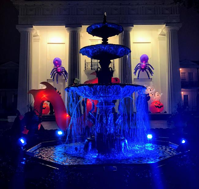 Old State House Museum-2018-big booseum bash-fountain and decorations