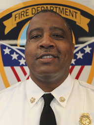 Fire Chief Delphone Hubbard
