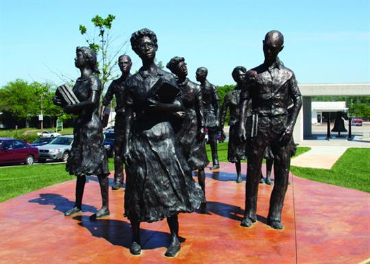 Testament: The Little Rock Nine Monument