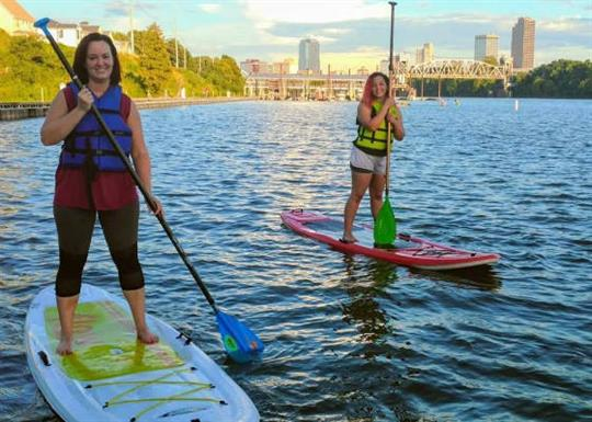 Rock Town River Outfitters-standing paddle boards-560x400