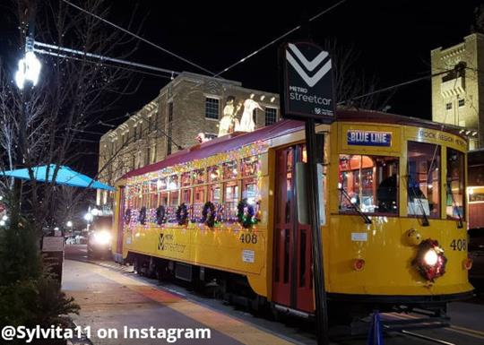 Rock Region Metro-streetcar-holiday decorations-560x400