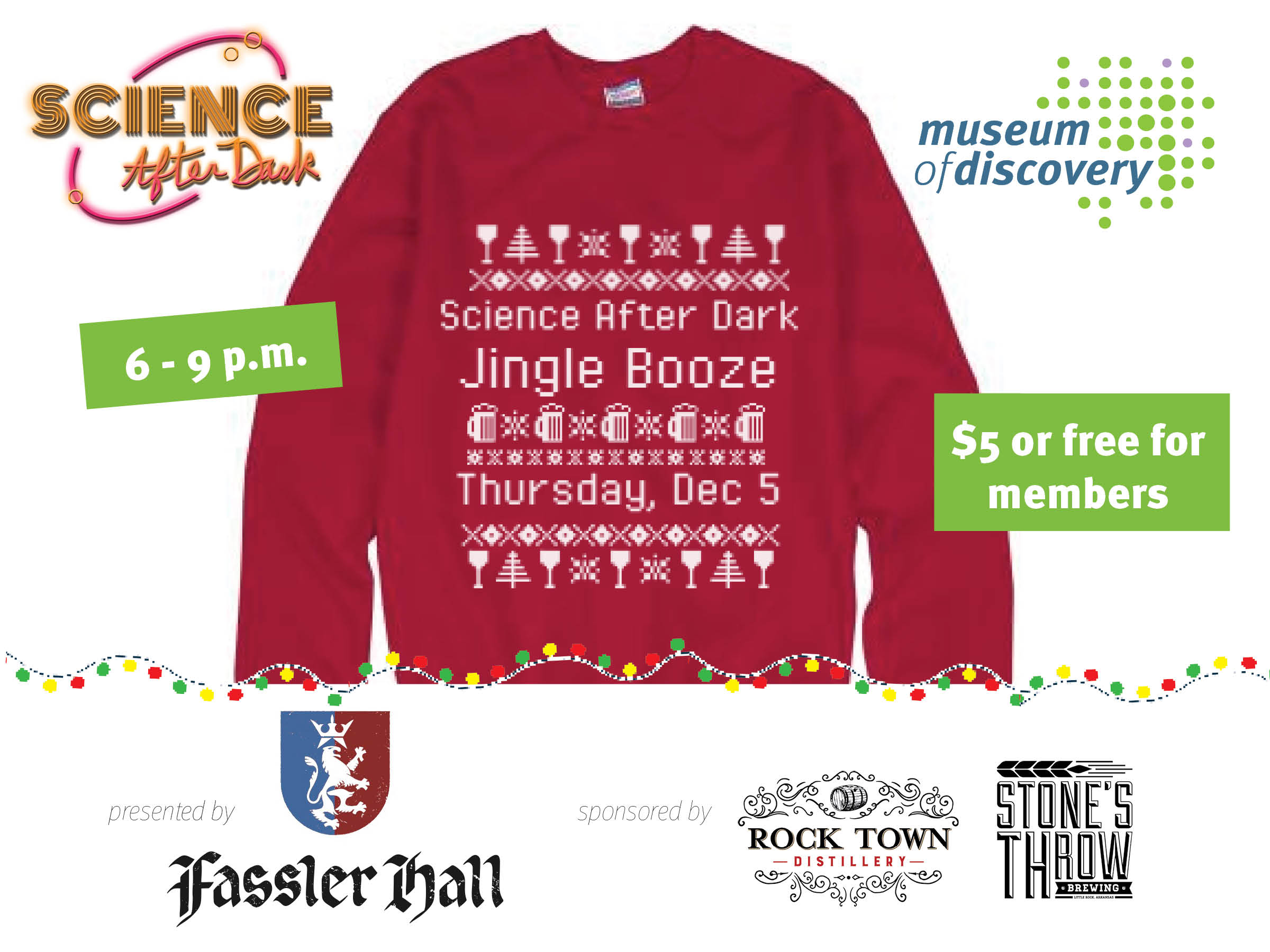 Science After Dark: Jingle Booze
