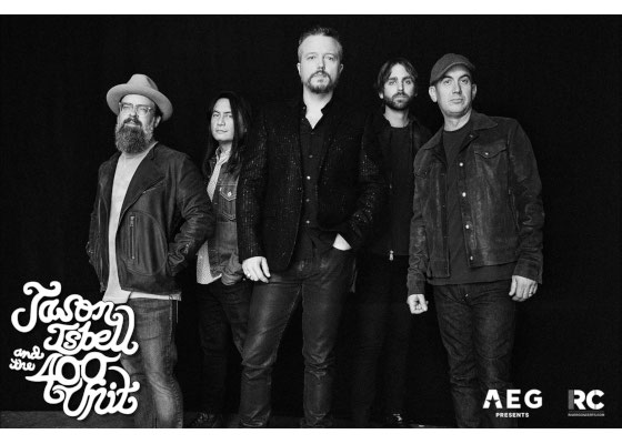 Jason Isbell & The 400 Unit at First Security Amphitheater