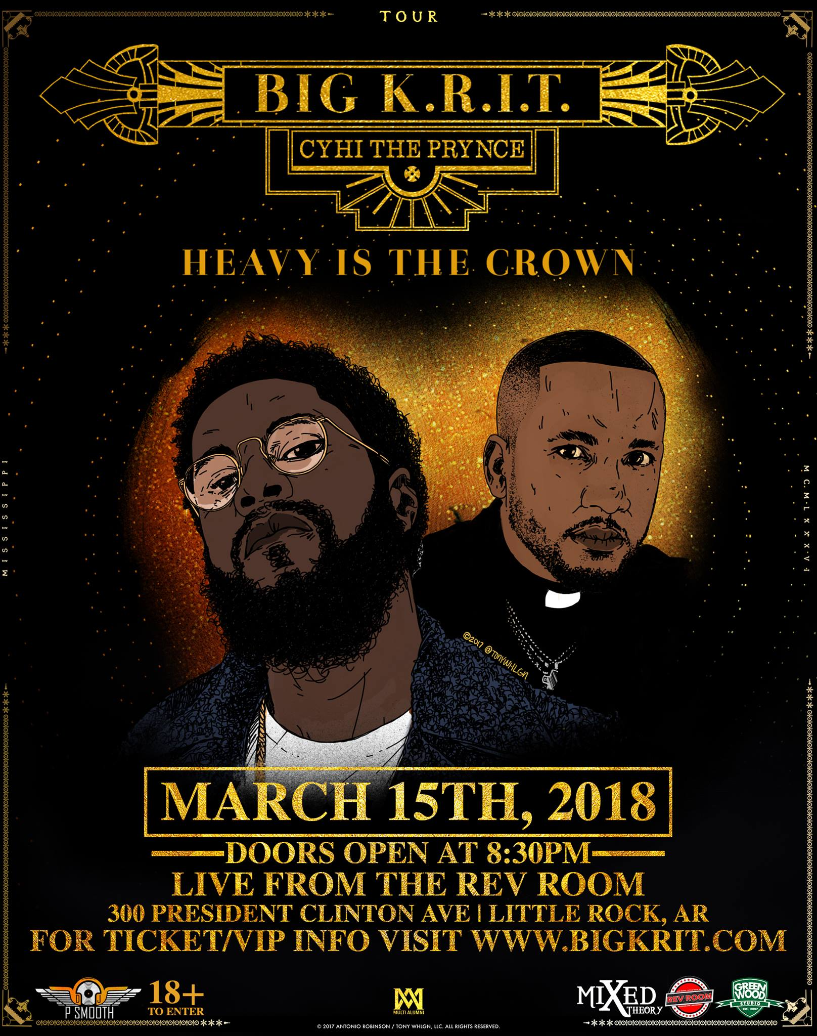 Big K.R.I.T. 'Heavy is the Crown Tour' with Special Guest, Cyhi the Prynce