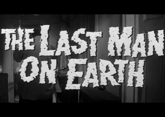 CALS presents: Terror Tuesdays - The Last Man on Earth (1964)