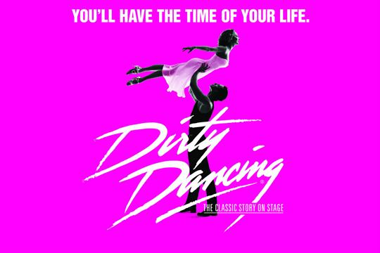 Celebrity Attractions_Dirty Dancing_Key Art with Headline_Pink_1350x900