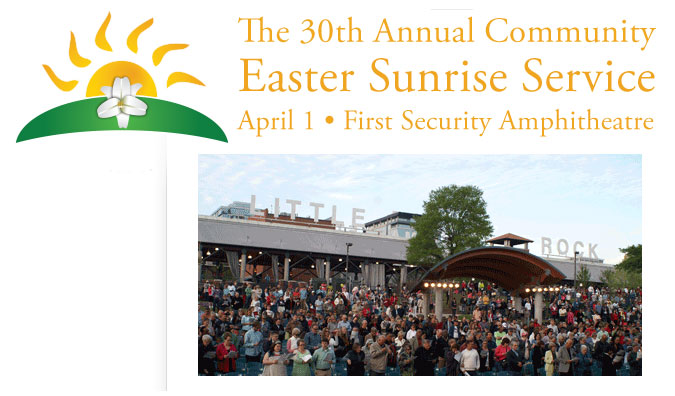 30th Annual Community Easter Sunrise Service