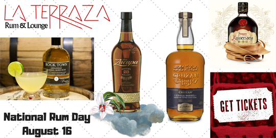National Rum Day At La Terraza Rum Lounge Little Rock