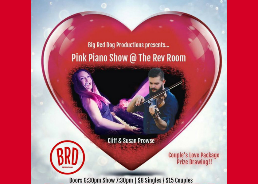 Pink Piano Show Valentines Bash