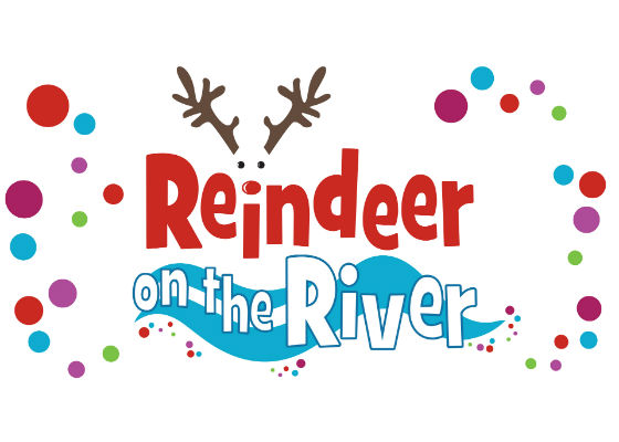 Reindeer on the River