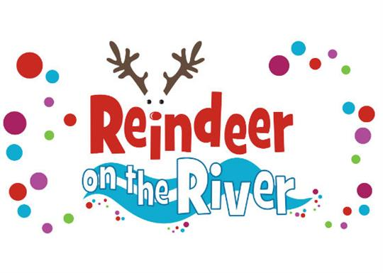 Reindeer on the River logo