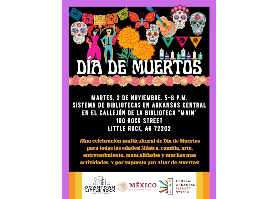 CALS, DLRP, Mexican Consulate to host Day of the Dead Celebration