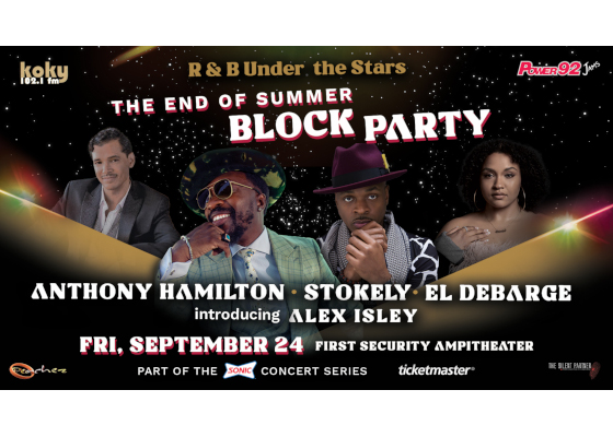 R&B Under The Stars - An End of Summer Block Party